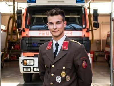 Zugskommandant Alexander Aberger
