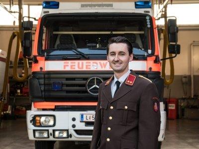 Kommandant - Stv. Mag. Felix Zangerle
